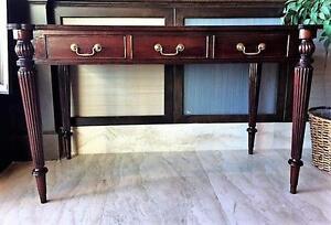 Ornate Wood Desk