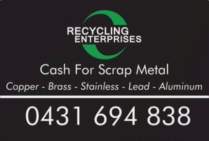 Gold Coast Cash for Scrap Metal