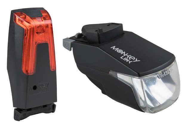 BULLS SKS MONKEYLINK LED Set E-Bike EMTB Fahrrad Magnet Beleuchtung 50 Lux