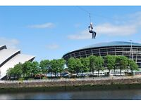 Zip Slide in Support of Ronald McDonald House, Glasgow