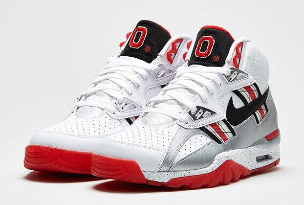 Nike SC Trainer High Ohio State Buckeyes Size 10. 638074-100 Jordan Bo Jackson - $299.99