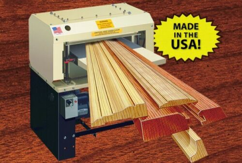 "Woodmaster 718. Professional Wood Planer/Molding 18"" Bed. with 5 HP motor"