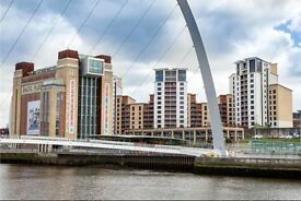 Immaculate luxurious flat on the NewcastleGateshead Quayside (with parking)
