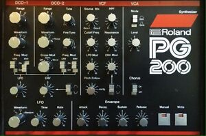 Looking for the roland pg 200 programmer