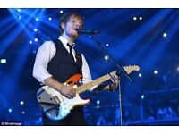 Ed Sheeran Wembley Tickets x 2 - Standing - 14th June 2018