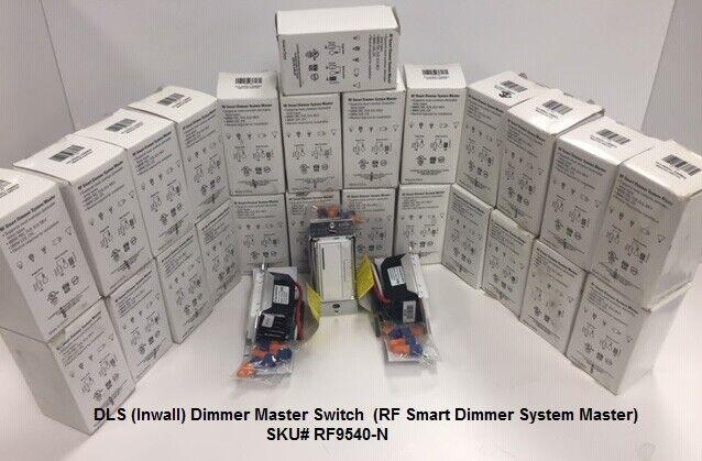 Aspire 600-Watt RF Smart Dimmer System Master, White, RF9540-N Lot Of 25