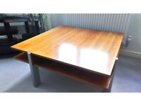 M&S square coffee table