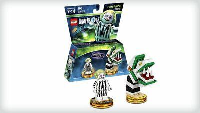 Lego Dimensions Beetlejuice Saturn's Sandworm #71349 Brand New Sealed Retired!
