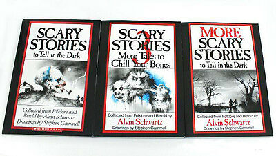 Scary Stories To Tell In The Dark Book Set Volume 1,2,3, Halloween Book
