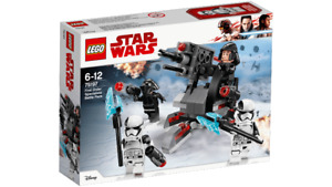 SAVE $4 Lego 2018 Star Wars First Order Specialists New 75197