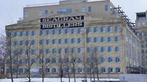 Historic Seagram Loft for Lease! Commercial Space Jan.1st