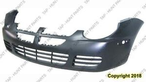 Bumper Front Primed Without Fog Hole Without Srt-4 Dodge Neon 2003-2005