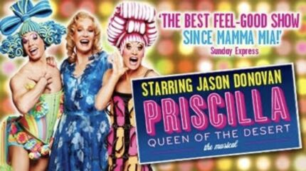 Priscilla Queen of the Desert TICKETS x2 for Wednesday 21st March