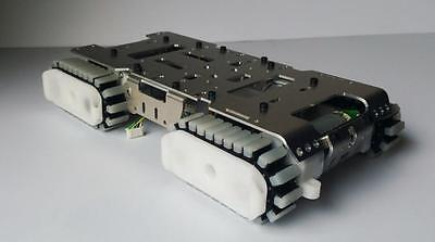 Arduino Tank chassis Metal Robot non-skid rubber belt track RC car vehicle
