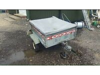 Trailer Erka 4 by 3 in good condition