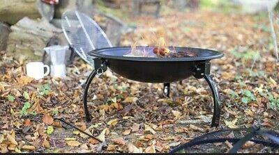 🔥La Hacienda Avid Camping Firebowl Log Burner BBQ Fire Pit Free P&P 🚛🔥