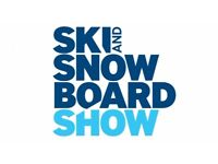 2x tickets SKI & SNOWBOARD SHOW, Battersea, London