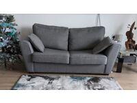 Grey Sofa Bed 2 Seater, Like New. Original Price £600.