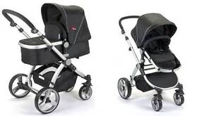 Brand New 2in1 2 Pc Mamakiddies Baby Pram Baby Stroller Carry Cot Auburn Auburn Area Preview
