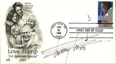 TOMMY TUNE Autographed First Day Cover
