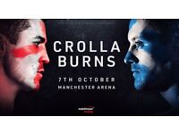 CROLLA V BURNS TICKETS