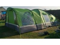 Hi Gear Emerald Green Voyager Elite 6 Person Family Tent with Porch - NEW unused