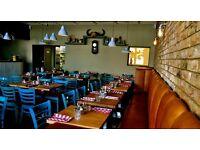 Waiter / Waitress & Barman for North London Neapolitan Pizzeria/Restaurant