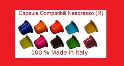 300 CAPSULE CIALDE COMPATIBILI NESPRESSO INTENSO CONFEZIONE MAXI0.12 SPED.GRATIS