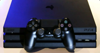 PS4 PRO, controller with charging cable in original box