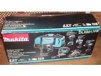 NEW Makita DLX6017PM 6 piece Cordless Power Tool Kit