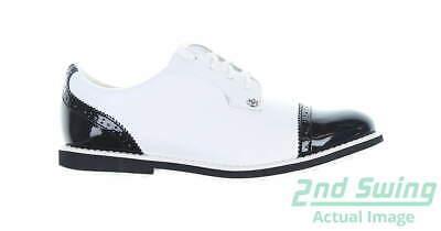 New Womens Golf Shoe G-Fore Gallivanter 10 White/Black MSRP $225 G4LC19EF04