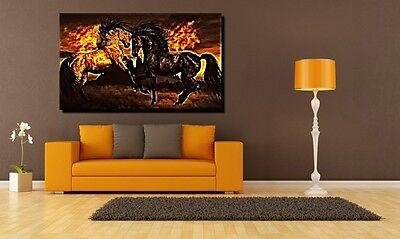 Wild Horse Mustang (POSTER BILD XXL POP ART WILD PFERD PFERDE HENGST STUTE HORSE MUSTANG - 150x90)