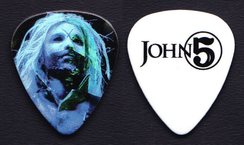 Rob Zombie John 5 Signature Photo Guitar Pick #2 - 2017 Tour