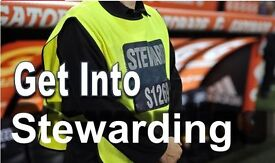FREE Stewarding qualification, training & JOB INTERVIEWS within 2 weeks! 17-25yr olds only