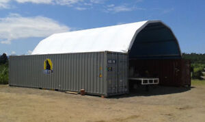 MOUNTED BUILDING SHELTER CANOPY DOME TENT by SHELCON & Industrial Tents | Kijiji in Alberta. - Buy Sell u0026 Save with ...