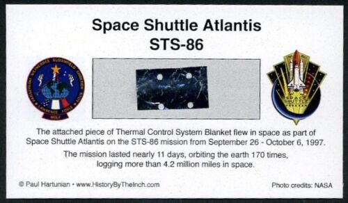 Own a Genuine Piece of Space Shuttle Atlantis - Flown in Space - For Just $14.95