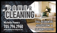 FAST RELIABLE CLEANER ACCEPTING NEW CLIENTS!