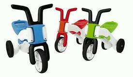 Chillsfish 2in1 balance bike and tricycle brand new