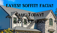 CAMBRIDGE!!   EAVES SOFFIT FACIA!!!  Get a quote today!!