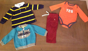 Boys 6-12 months - 4 items total. $8 for all