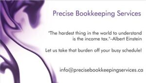 TAXES, BOOKKEEPING & ACCOUNTING