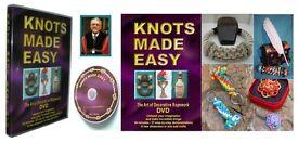 "760 NEW 94min DVD's Tutorials of ""KNOTS MADE EASY"" (£10,000 stock)"