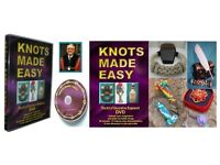 "760 NEW 94min DVD's Tutorials of ""KNOTS MADE EASY"" (£10,000 stock)"