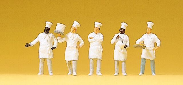 Figuren Preiser H0 (10330): Köche am Buffet
