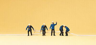 Preiser 79117 Escala N Figuras, Bomberos # Nuevo en Emb. Orig. #