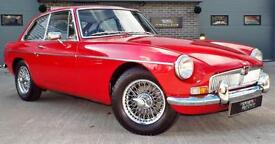 1967 MGB GT 1.8 Red Fully Restored Great Example!