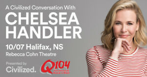 2  tickets to Chelsea Handler Sunday Oct 7th 8PM