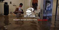 Flooded Basement We can Help - Call Get it Clean Today