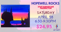 East Coast Art Party - Hopewell Rocks