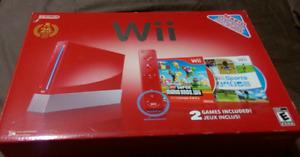 Console Wii rouge, édition spéciale